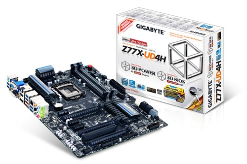 UD4归位!技嘉发布新款Z77芯片组主板
