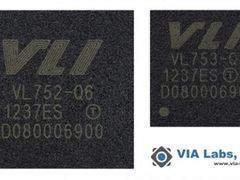 VIA发布VL752/VL753 USB3/闪存控制器