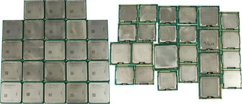 2012终极盘点!86款处理器超级大横评