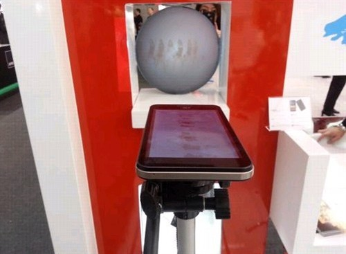 """...手机ceo李宏韬表示:\""""通过康佳幻影s1四频   双模   智能投影..."""