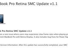 苹果发布15英寸Retina MBP固件1.1更新