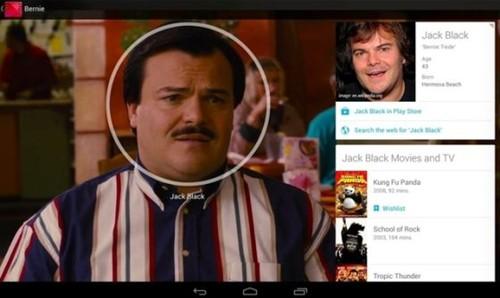 安卓系统新功能!看电影可搜演员信息