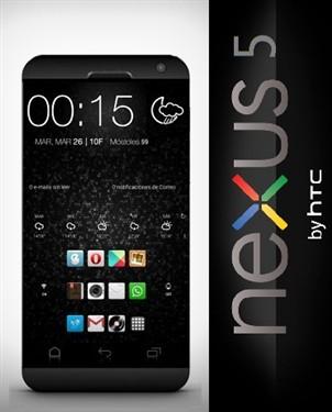 5英寸长得像One?曝HTC Nexus 5概念机