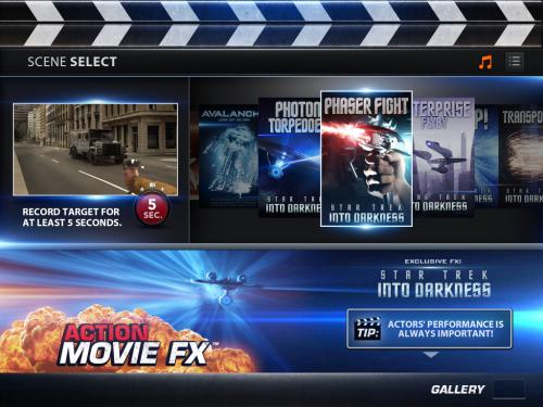 好莱坞爆炸效果 iPhone软件动作影片