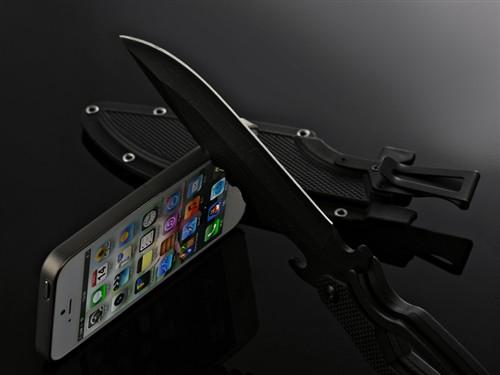 比肩刀锋0.35mm 超薄iPhone 5保护套