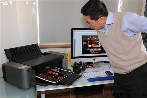 让照片有面子 佳能喷墨打印机PRO-100