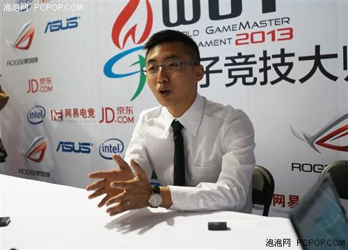 ROG台式电脑继续进化  华硕陈鑫专访