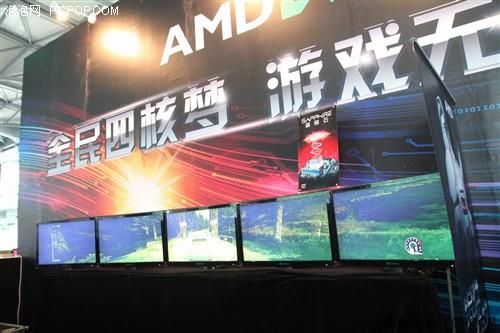 游戏无止境!AMD ChinaJoy展台人气旺