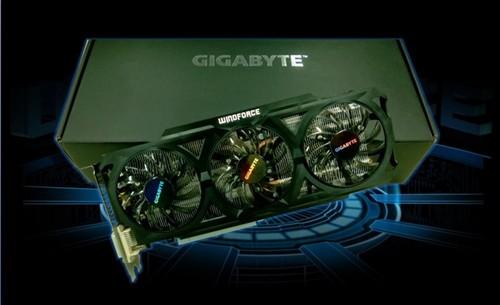 技嘉GV-N760OC-2GD三风扇 秒杀HD7950