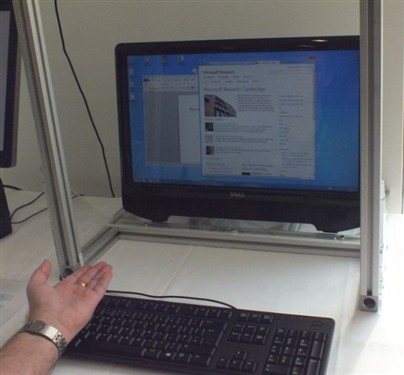 Windows用户未来可借助手势操作系统
