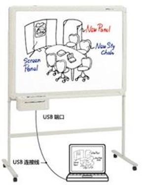 简约实用 普乐士电子白板BF-041S热销