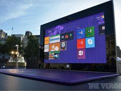 383英寸!微软巨屏Surface 2现身伦敦