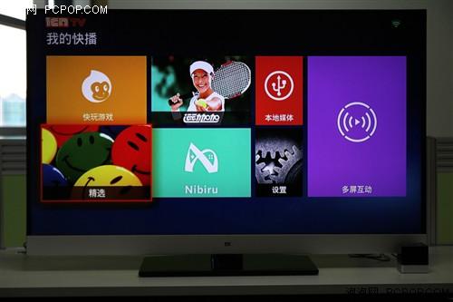 四核心+体感遥控 快播小方电视盒评测