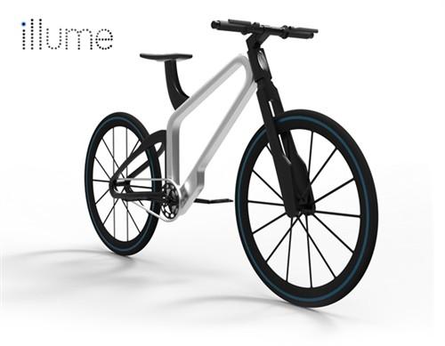 可照明自行車概念設計