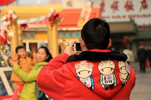 皇城根的圣诞节 用相机记录北京平安夜