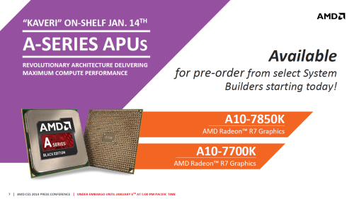AMD发力CES2014 新一代APU应用全解析