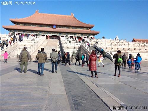 大年初一小游记 带着OPPO N1游览故宫