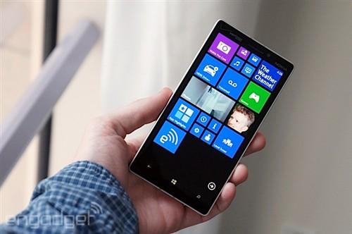高配置金属边框 诺基亚lumia icon发布