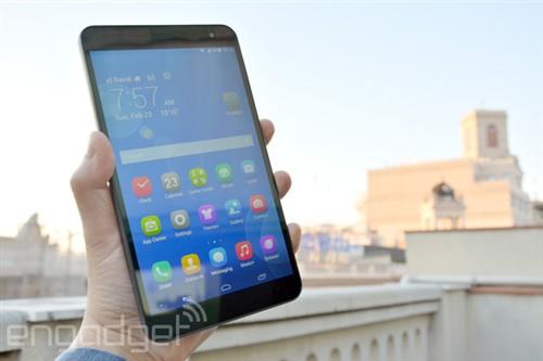 比iPad mini轻!华为发布MediaPad X1