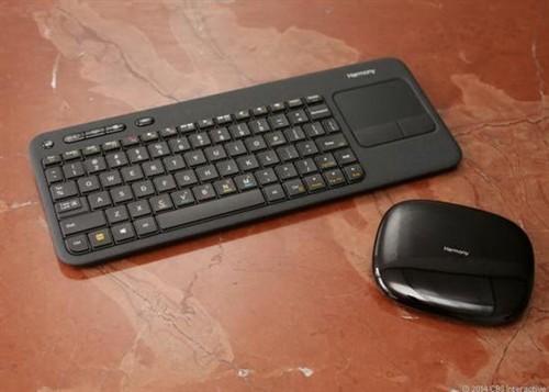 罗技智能键盘 可操控PS3/Xbox/电视盒