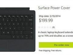 199.99刀 微软Surface Power Cover开始预订