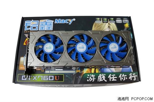 动态超频技术 铭鑫GTX760U中国玩家版