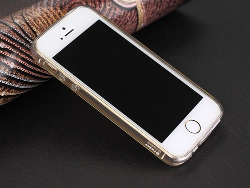 Fanbey i-Stealth全透iPhone 5S TPU保护套图赏