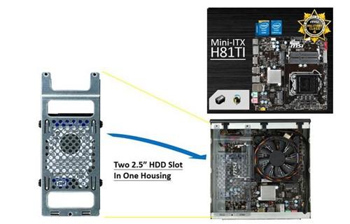 体积仅为2.3L 微星发布Haswell准系统
