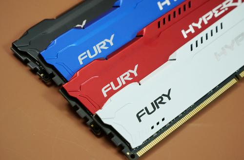 无死角 带你一同了解HyperX FURY内存