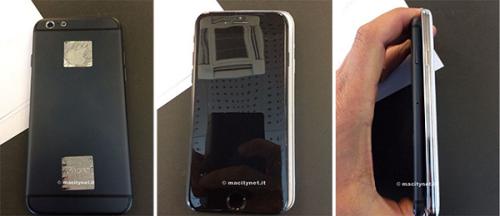 iPhone6再曝光 尺寸比肩三星GALAXY S5