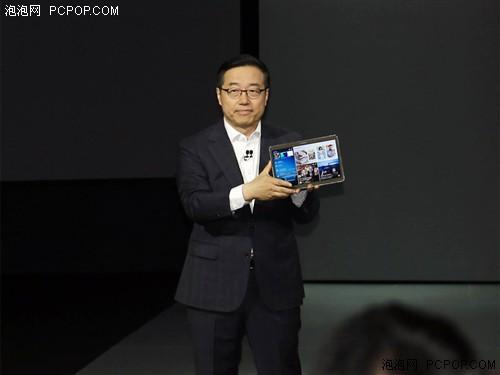炫彩夺目AMOLED屏 三星Tab S新品发布