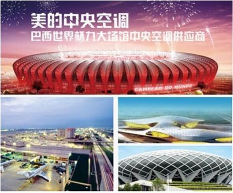世界杯品质 美的家庭中央空调领冠全球