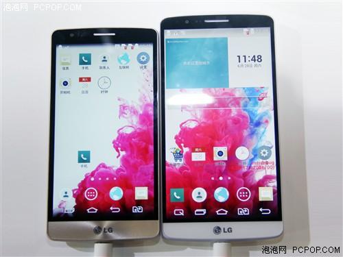配置缩水/售价2500元 LG G3 Beat展出