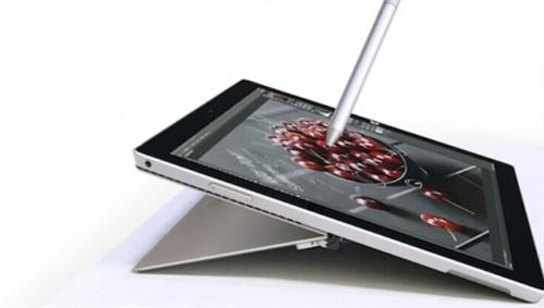 微软Surface Pro3显示效果获得专业肯定_微软