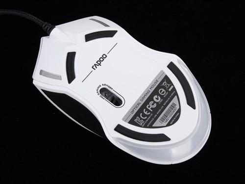 APM呼吸灯3000DPI 雷柏V20电竞鼠标评测