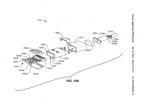 iPhone 6数据线双面USB专利PDF全曝光