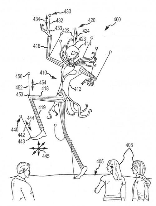 迪士尼获专利:无人机打造浮动投影屏幕