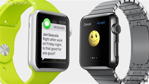 品质让你看的见 苹果发布Apple Watch