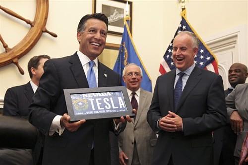 特斯拉超级电池工厂为何落户内华达?