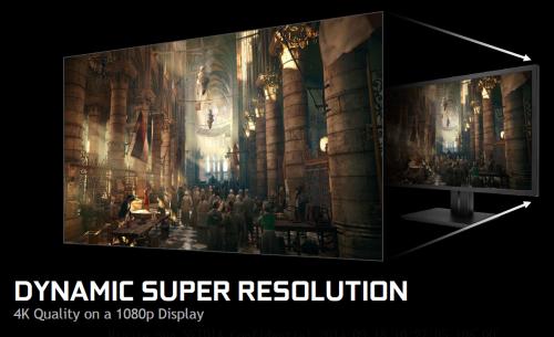 NVIDIA的黑科技2:1080p显示器也玩4K