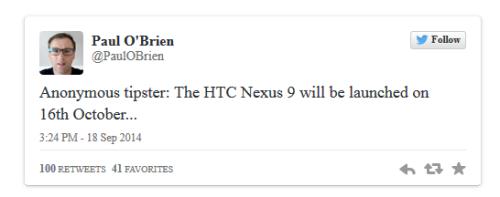 Nexus新品10月推出 Android L拖至11月