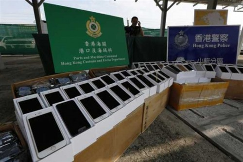 iPhone 6水货价格暴跌!源于海关严走私