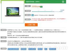 一年3000块 上海电信开通200Mbps宽带