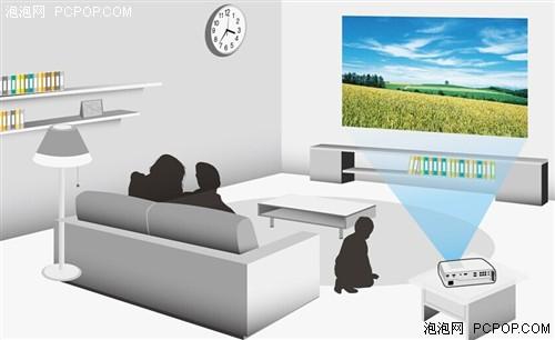 明基专业家用投影机i700开启智能家居