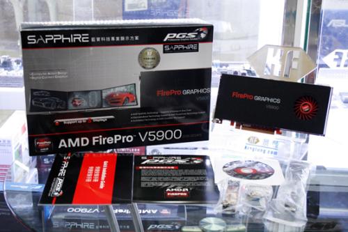 蓝宝石AMD FirePro V5900 报价1990元