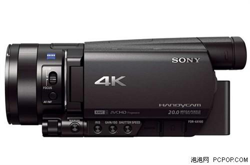 便携4K摄像机 索尼FDR-AX100E现12560
