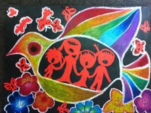 柯尼卡美能达特殊儿童绘画手工赛启动