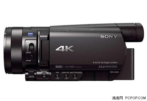4K画质摄像机 索尼FDR-AX100E现12556