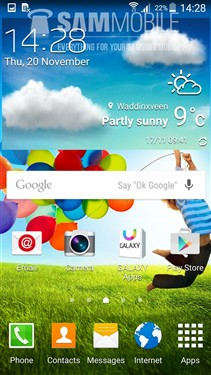 系统变漂亮了 三星S4安卓5.0界面曝光