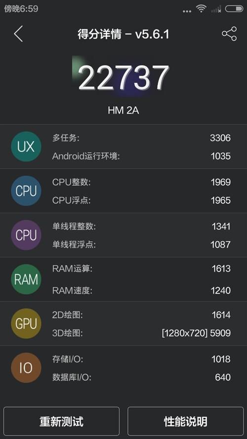 联芯L1860C到底行不行?红米2A性能评测
